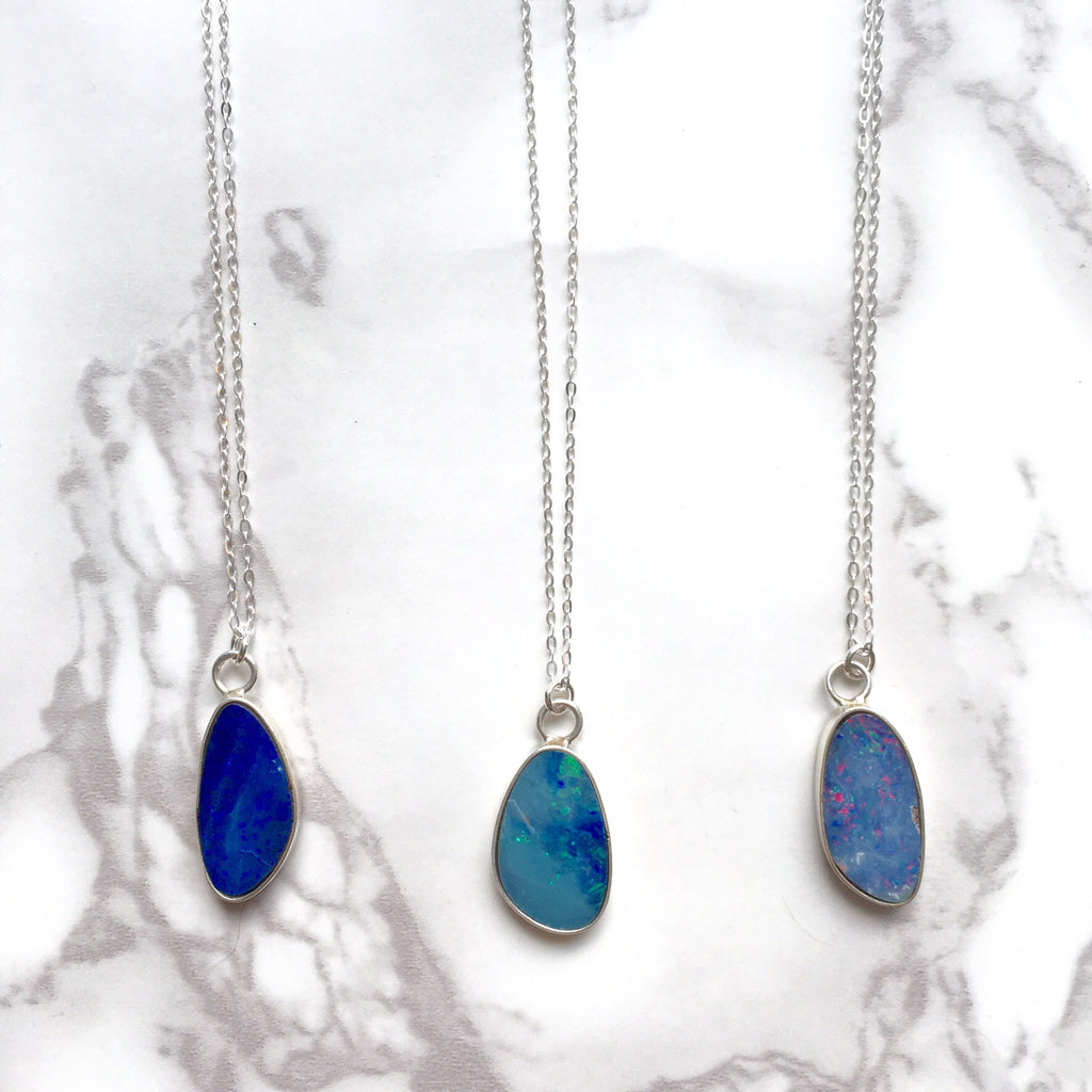 Coober Pedy Opal Necklaces