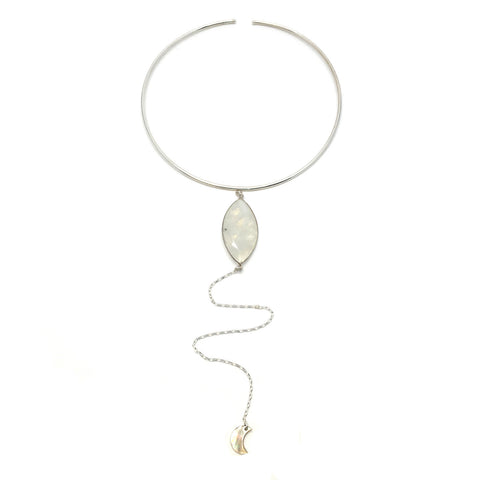 Deimos Necklace - Moonstone