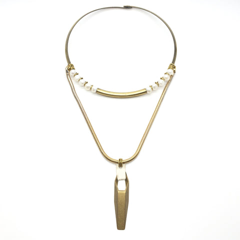 Maia Necklace - Pearl