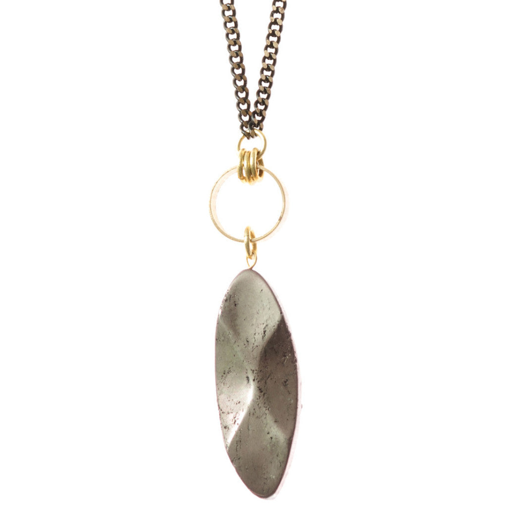 Themis Necklace - Pyrite