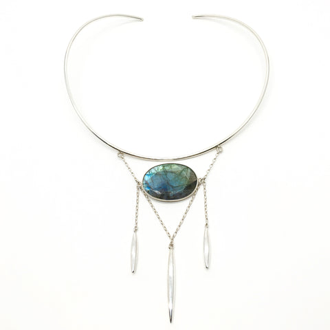 Pallas Necklace - Labradorite