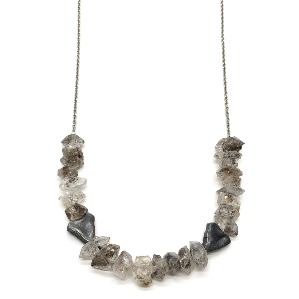 Salacia Necklace - Herkimer Diamond