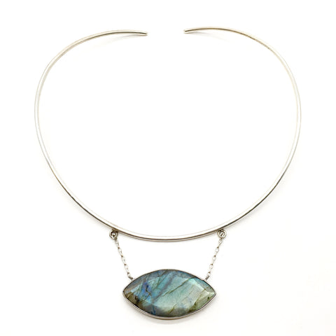 Margot Necklace - Labradorite