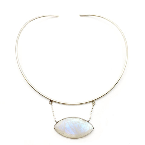 Margot Necklace - Moonstone