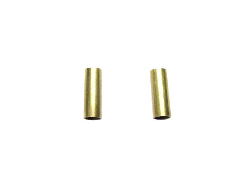 Brass Tube Earrings