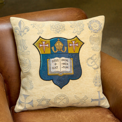 MARLBOROUGH COLLEGE CUSHION