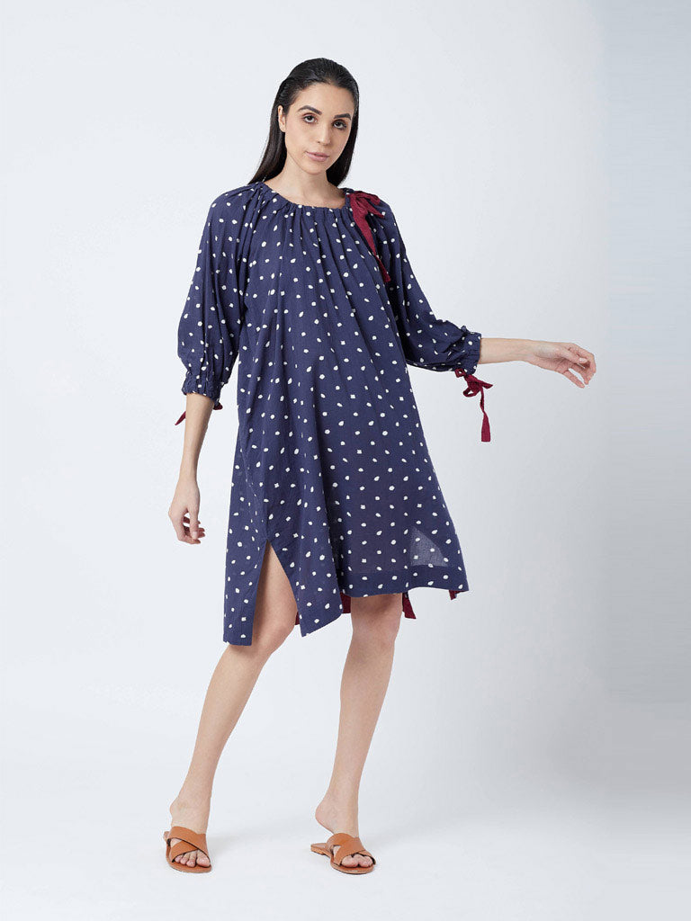 Kelly Dotted Dress