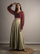 Load image into Gallery viewer, Embellished Lehenga Skirt Set