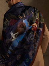 Load image into Gallery viewer, 'Enchanted Garden' Silk Stole
