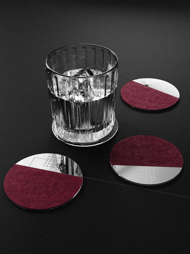 Reveal Coasters (Set of 4)