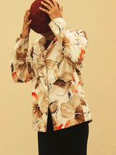 Load image into Gallery viewer, Alfred Dunner Printed Jacket