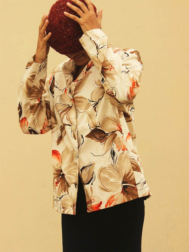 Alfred Dunner Printed Jacket
