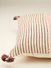 Load image into Gallery viewer, Pink kala cotton cushion 12 by 12