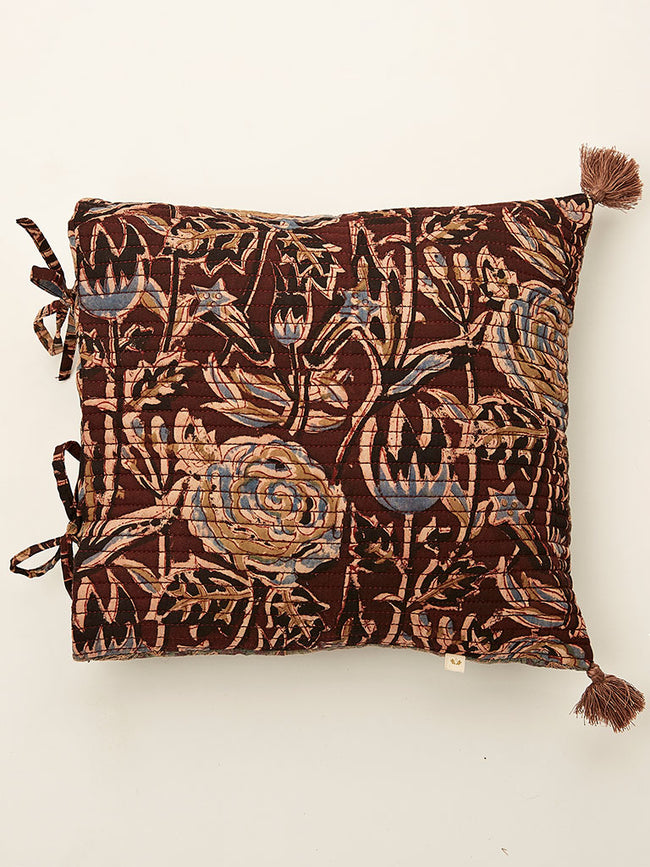 Ajrakh cushion 12 by 12