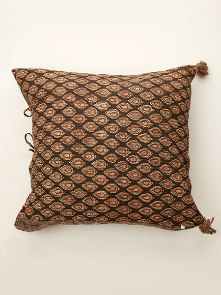 Ajrakh cushion 24 by 24