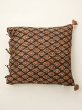 Load image into Gallery viewer, Ajrakh cushion 18 by 18