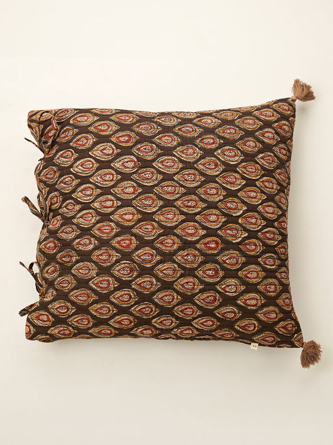 Ajrakh cushion 18 by 18