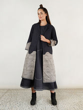 Load image into Gallery viewer, Relaxed Waves Jacket Maxi Co-Ord