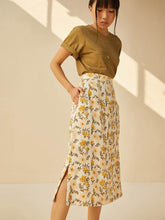 Load image into Gallery viewer, Sunshine Poppy Skirt