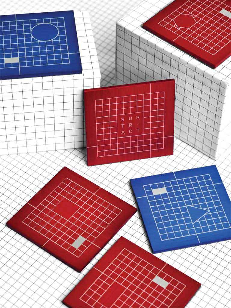 The Grid System Coasters (Set of 6)