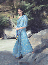 Load image into Gallery viewer, Perakh-Denim Sari