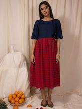 Load image into Gallery viewer, Aster Gathered Dress-DRESSES-IKKIVI