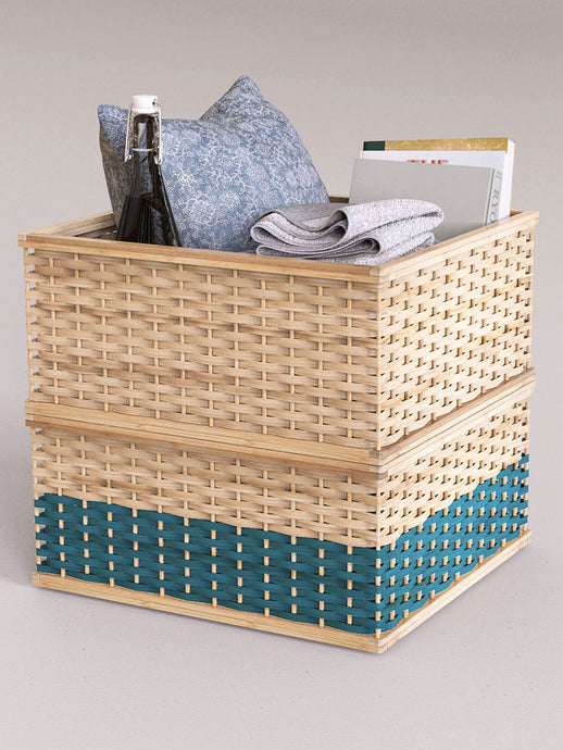 Stackable Baskets (Square)-STORAGE-IKKIVI