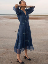 Load image into Gallery viewer, Blue Marine-DRESSES-IKKIVI
