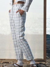 Load image into Gallery viewer, Checkered Trousers-BOTTOMS-IKKIVI