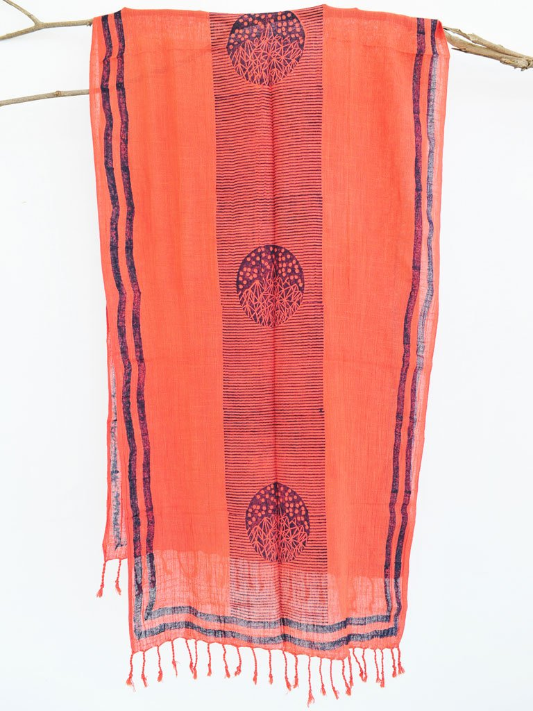 Coral Hill Scarf-ACCESSORIES-IKKIVI