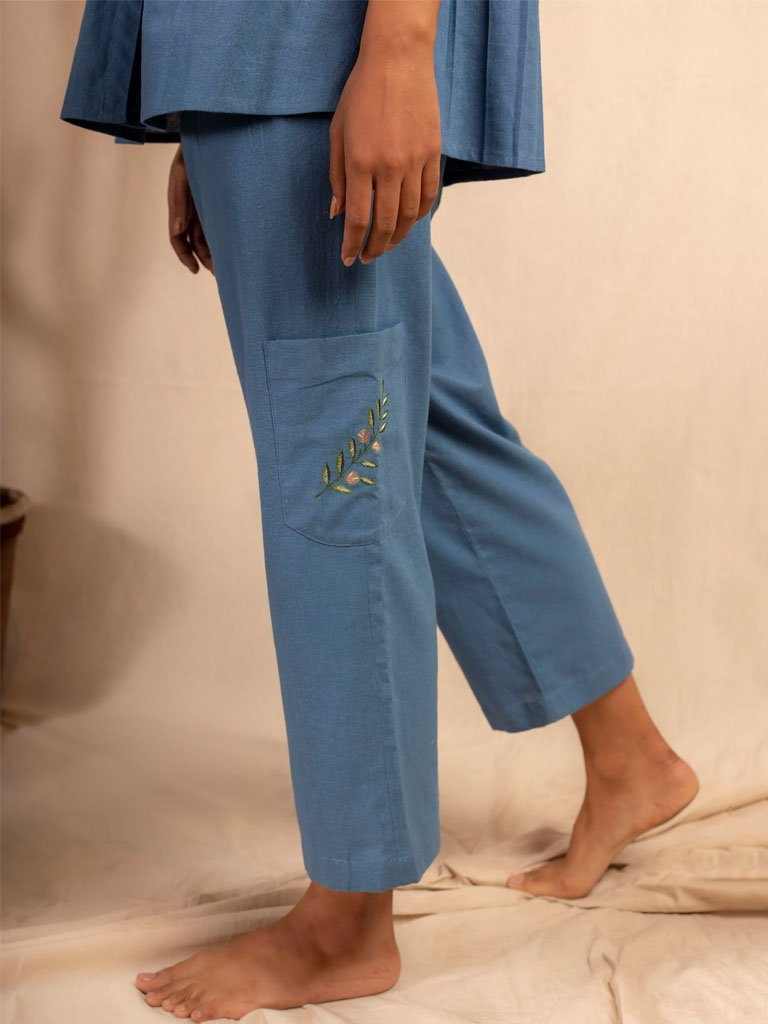 Dalla Riva Trousers-SKIRTS & TROUSERS-IKKIVI