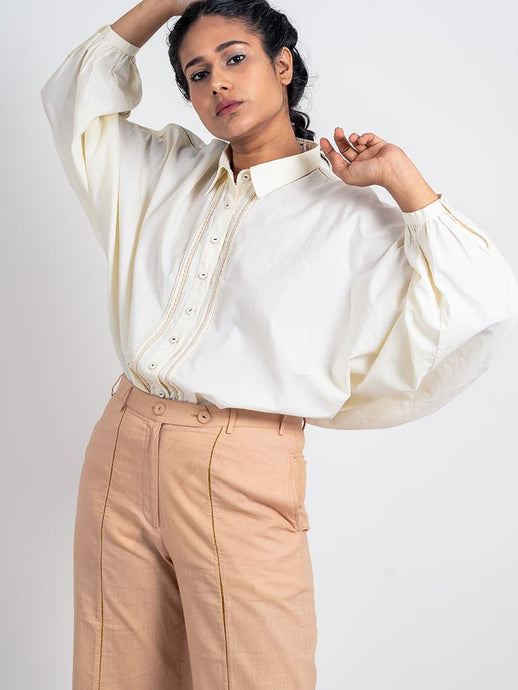 Dolman Sleeve Shirt-TOPS-IKKIVI