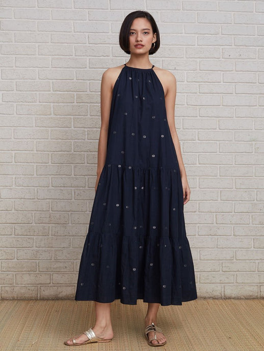 Soft khadi tier dress