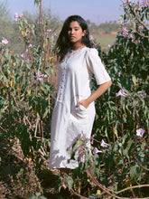 Load image into Gallery viewer, Kora Khadi Cocoon Tunic-DRESSES-IKKIVI