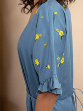 Load image into Gallery viewer, Lemon Skies Dress-DRESSES-IKKIVI