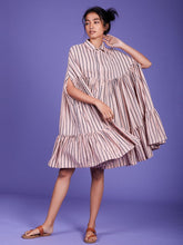 Load image into Gallery viewer, Mati Cape Dress-DRESSES-IKKIVI