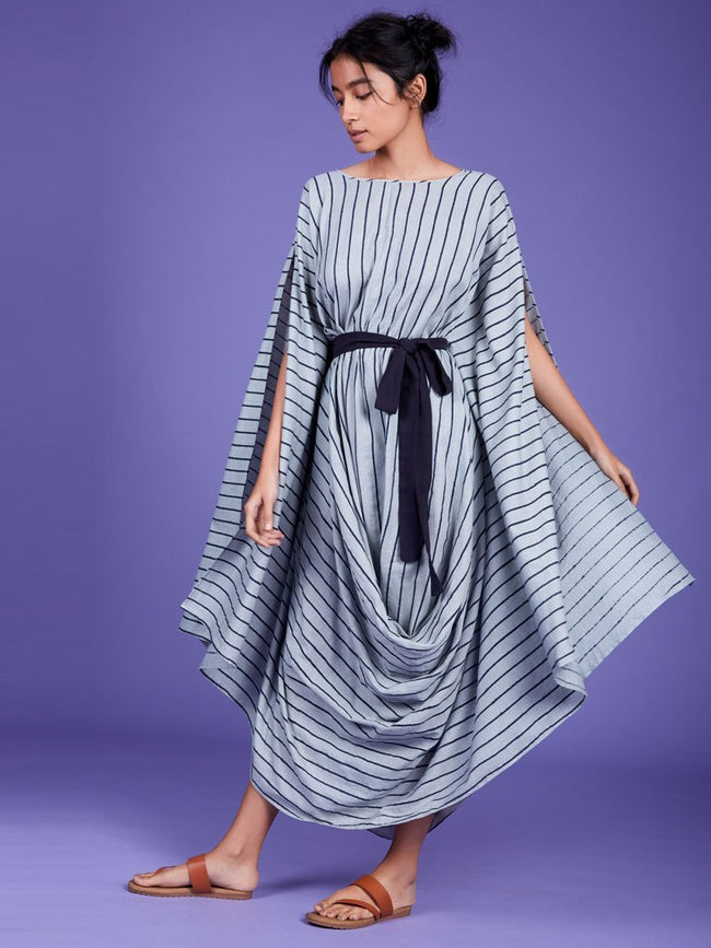 Mati Cowl Dress-DRESSES-IKKIVI