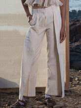 Load image into Gallery viewer, Pin Stripe Trouser-BOTTOMS-IKKIVI