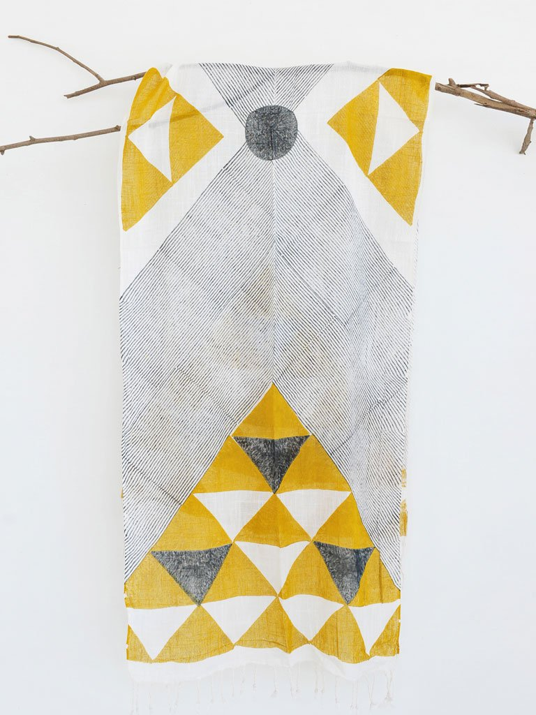 Pyramid Scarf-ACCESSORIES-IKKIVI