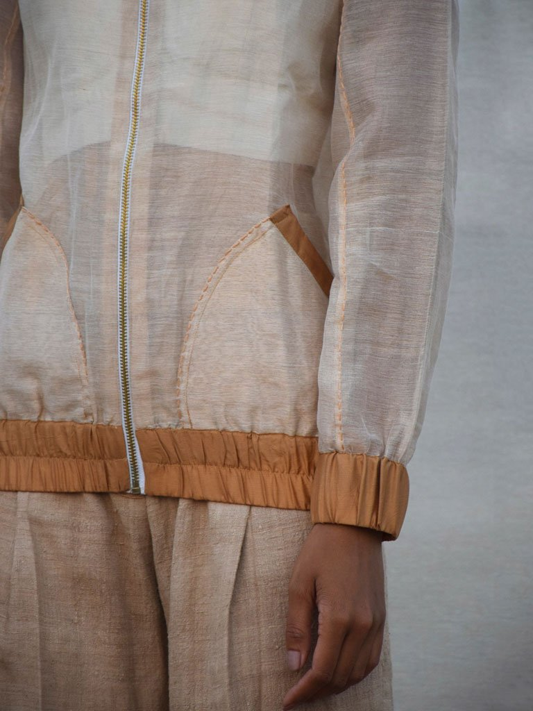 See Through Jacket-JACKETS-IKKIVI
