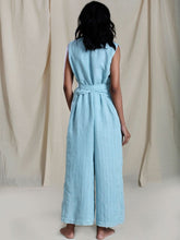 Load image into Gallery viewer, Snai Aakaar Jumpsuit-Jumpsuits-IKKIVI
