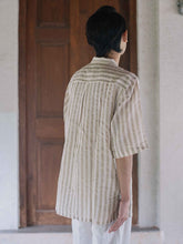 Load image into Gallery viewer, Striped Shirt-SHIRTS-IKKIVI
