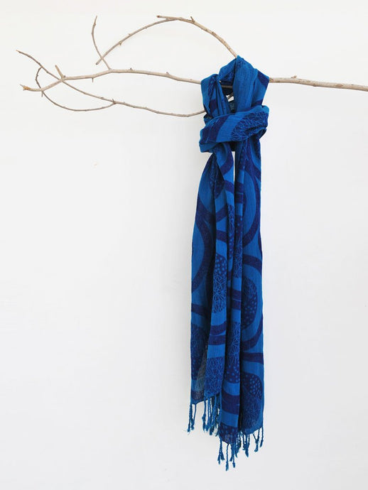 Sun Moon Scarf-ACCESSORIES-IKKIVI