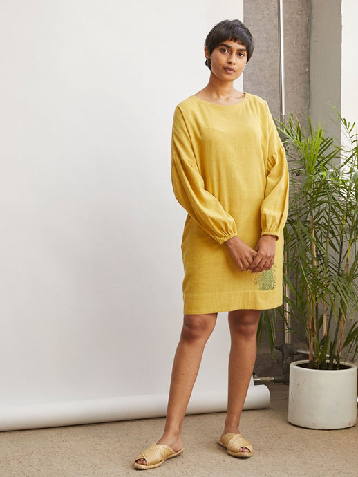 Sunshine Bamboo Dress-DRESSES-IKKIVI