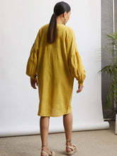 Load image into Gallery viewer, Sunshine Handspun Dress-DRESSES-IKKIVI