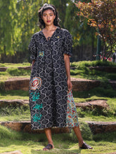 Load image into Gallery viewer, The Two Print Maxi-DRESSES-IKKIVI