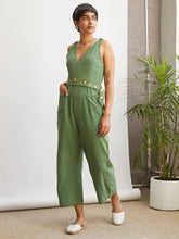 Load image into Gallery viewer, Tropical Jumpsuit-JUMPSUITS-IKKIVI