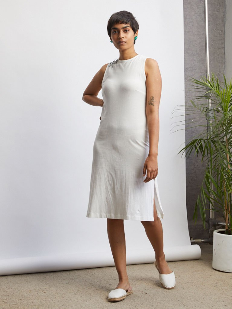 Vine Knit Dress-DRESSES-IKKIVI