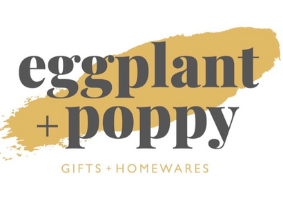 Eggplant & Poppy ~ Unique + Quirky Gifts