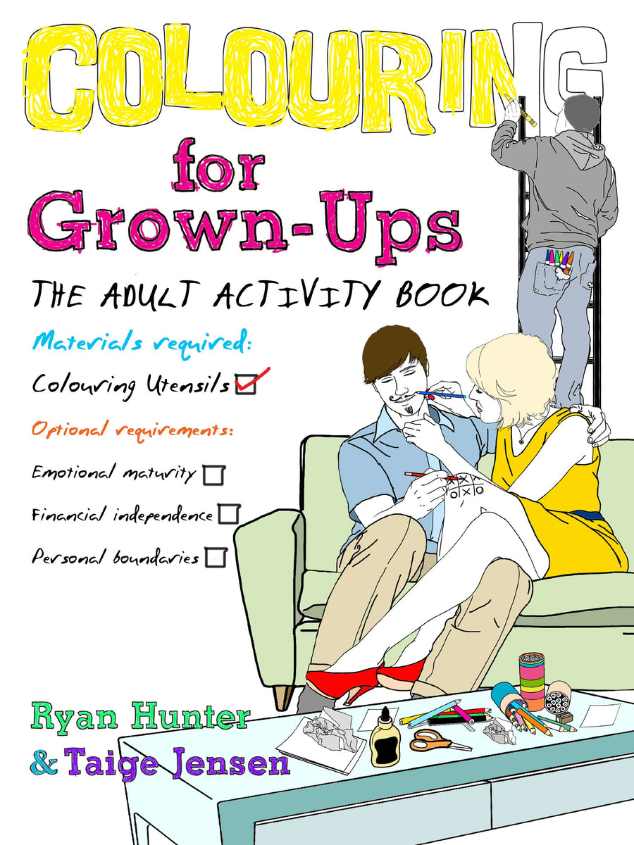 Colouring For Grown Ups